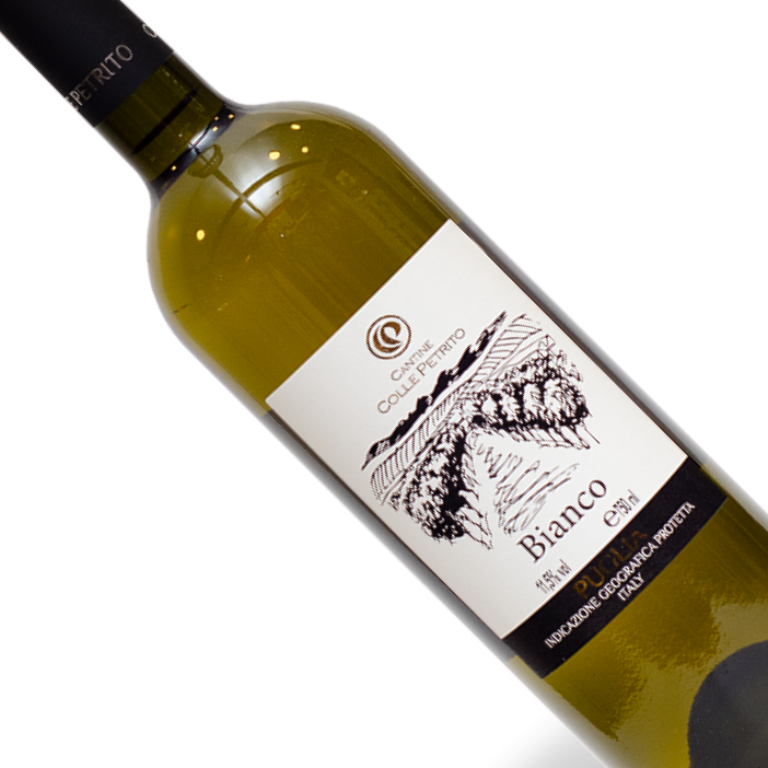 Vinho Italiano Branco Colle Petrito Bianco Puglia IGP 750ml