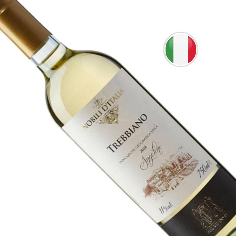 Vinho Italiano Branco SC Nobili D' I Trebbiano D' Abruzzo Garrafa 750ML