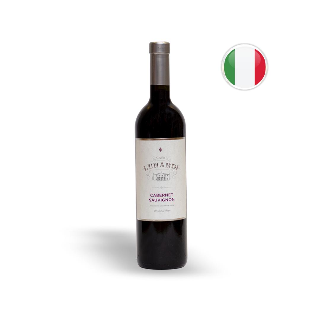 Vinho Italiano Tinto Lunardi Cabernet Sauvignon 2018 - 750ML