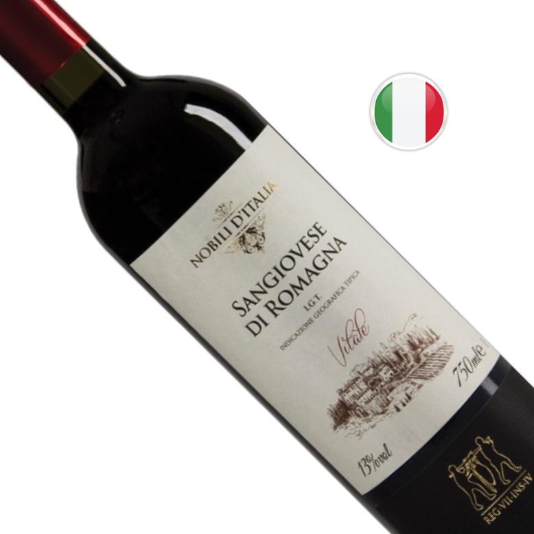 Vinho Italiano Tinto SC Nobili D' I Sangiovese Di Romagna Garrafa 750ML