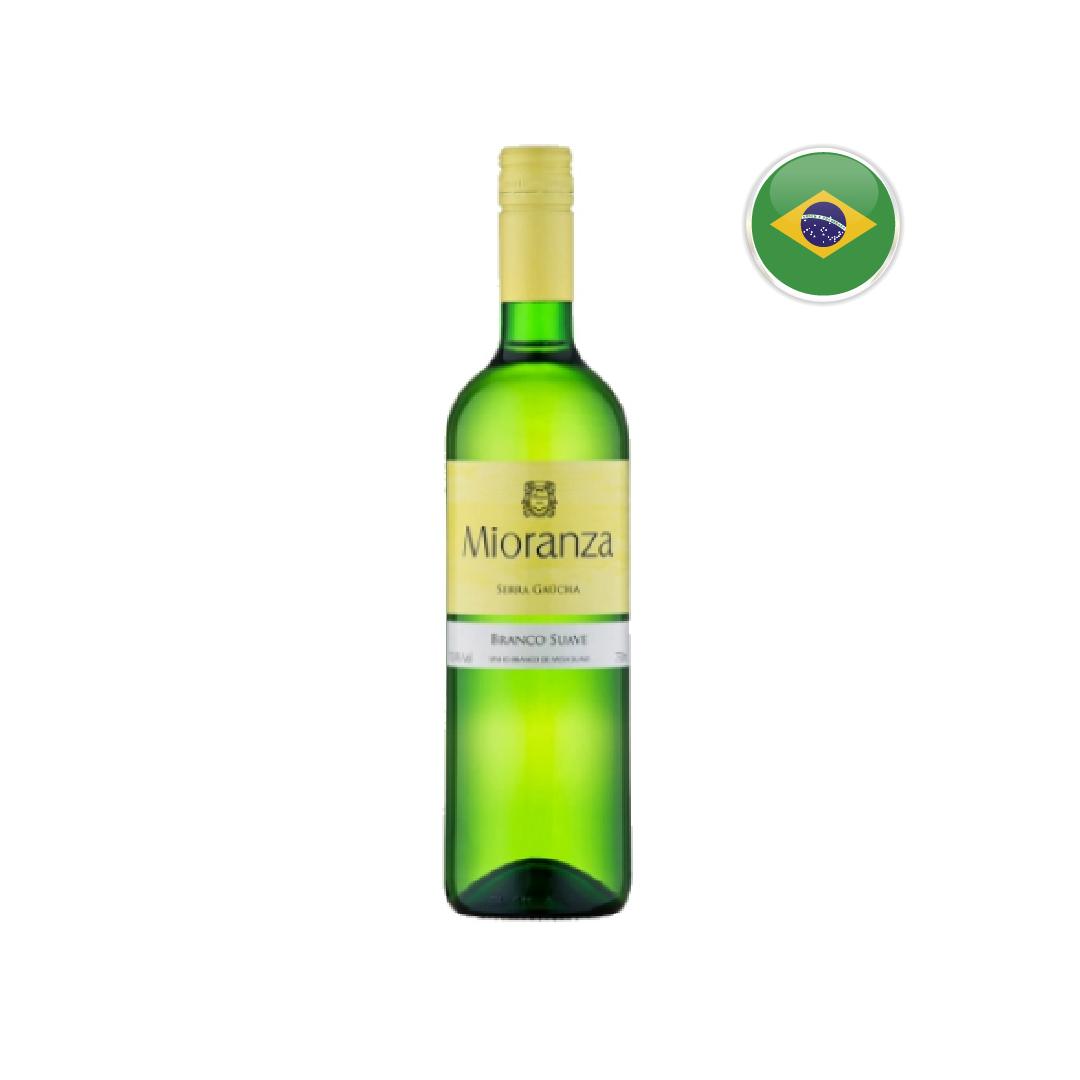 Vinho Nacional Branco de Mesa Suave Mioranza - 750ML