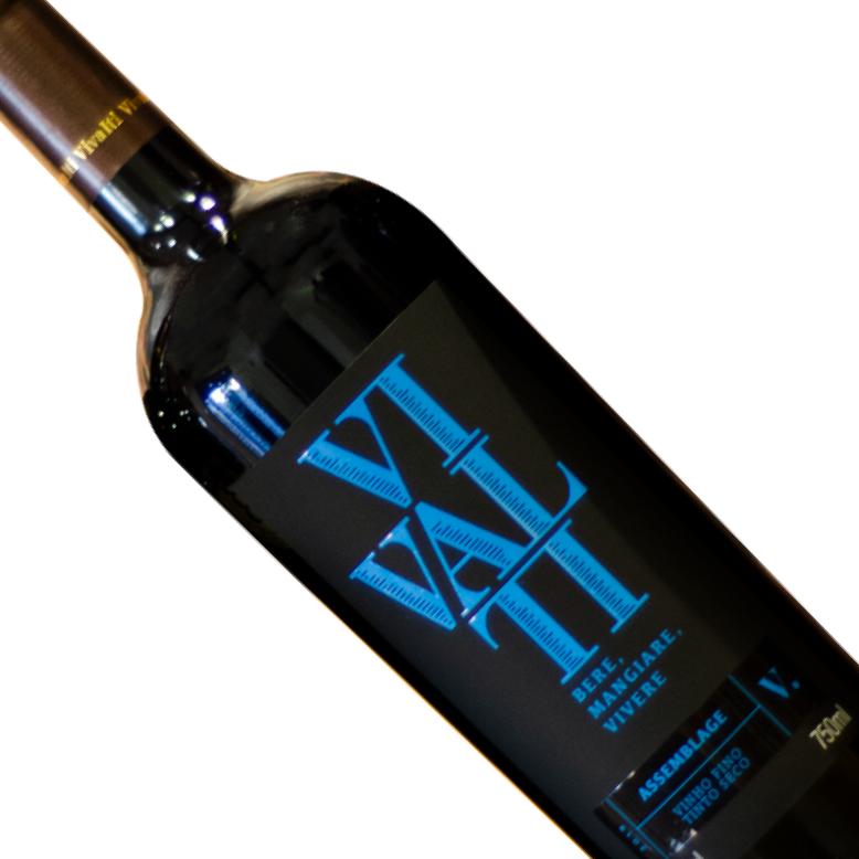 Vinho Nacional Tinto Vivalti Assemblage Garrafa 750ML