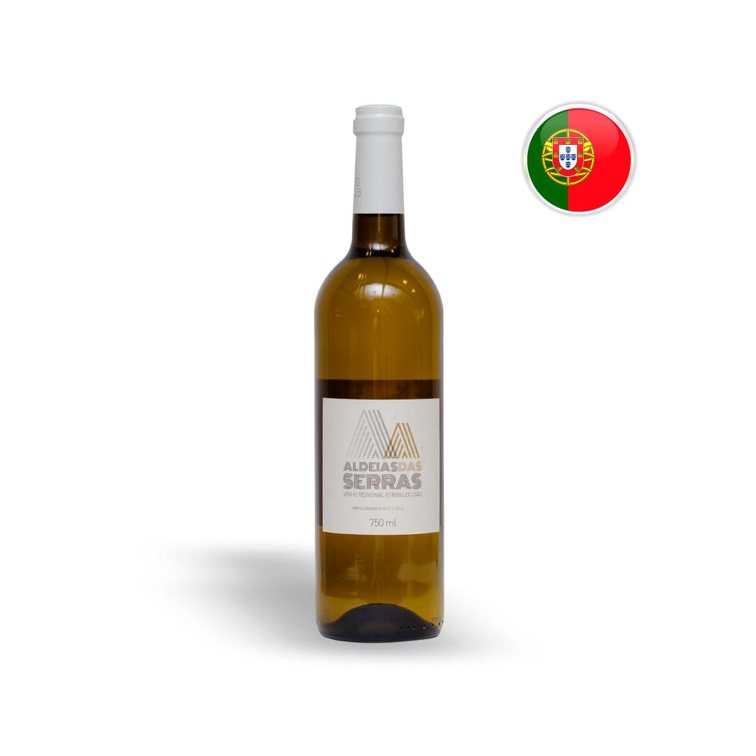 Vinho Português Branco Aldeias Das Serras Garrafa 750ML