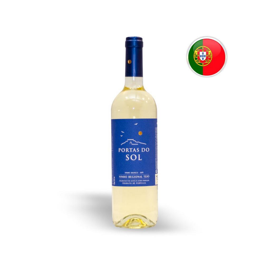 Vinho Português Branco Portas Do Sol Garrafa 750ML