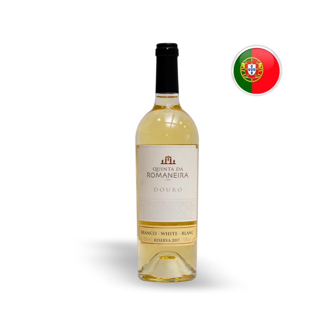 Vinho Português Branco Quinta da Romaneira Reserva Garrafa 750ML