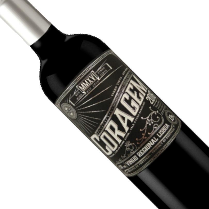Vinho Português Tinto Coragem Regional Lisboa Garrafa 750ML
