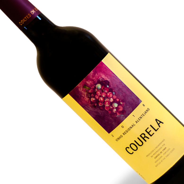 Vinho Português Tinto Courela Cortes De Cima Alentejo Garrafa 750ML
