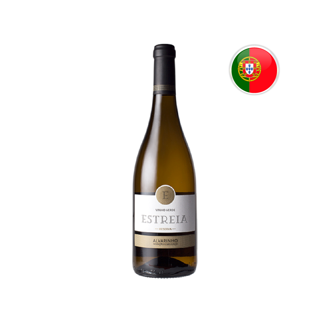 Vinho Verde Português Estreia Reserva Alvarinho 750ML