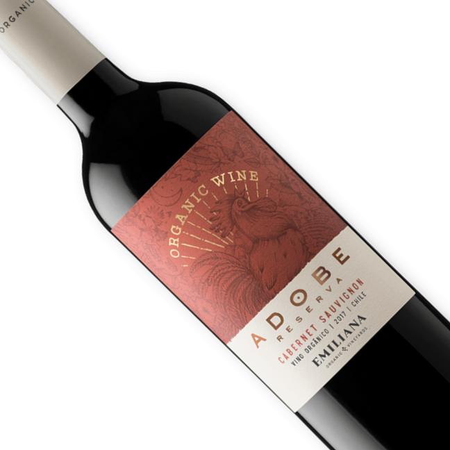 Vinho Chileno Tinto Orgânico  Emiliana Adobe Cabernet Sauvignon 750ML