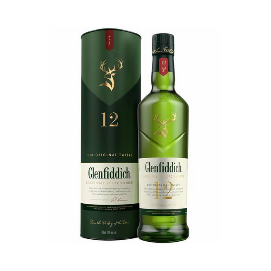 Whisky Escocês Glenfddich 12 Anos 750ML