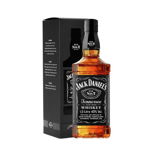 Whisky Jack Daniel's Old N°7 Brand Tennessee Whiskey 1L