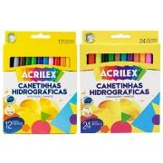 CANETINHAS HIDROGRÁFICAS ACRILEX