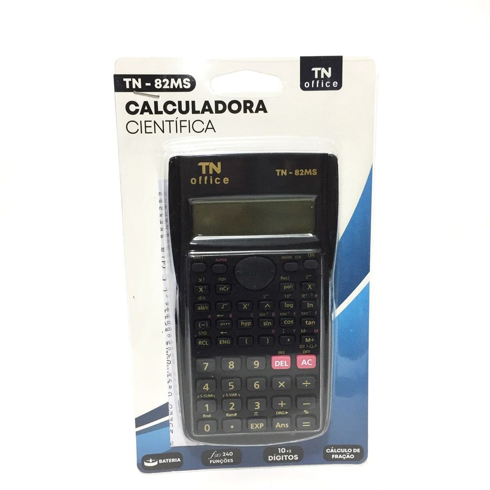 CALCULADORA CIENTIFICA TN OFFICE TN-82MS