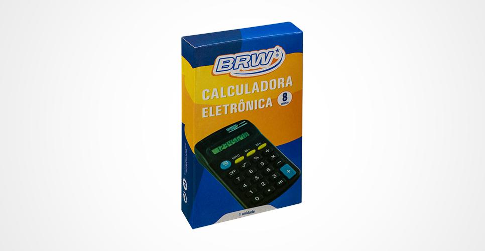 CALCULADORA DE BOLSO ELETRÔNICA BRW