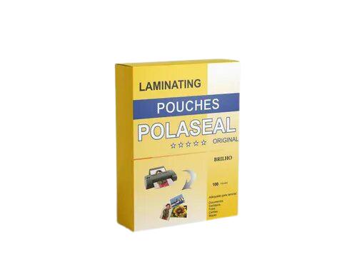 PLÁSTICO POLASEAL PARA PLASTIFICAÇÃO CAIXA COM 100UN