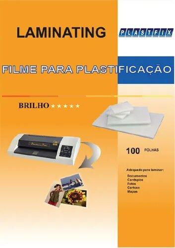 PLÁSTICO POLASEAL PARA PLASTIFICAÇÃP A4 CAIXA COM 100UN
