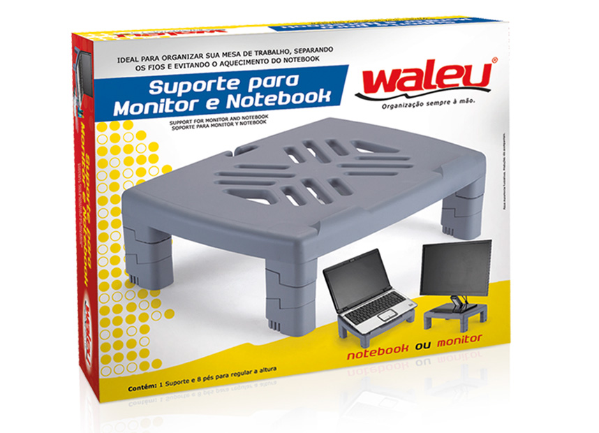 SUPORTE PARA MONITOR E NOTBOOK WALEU