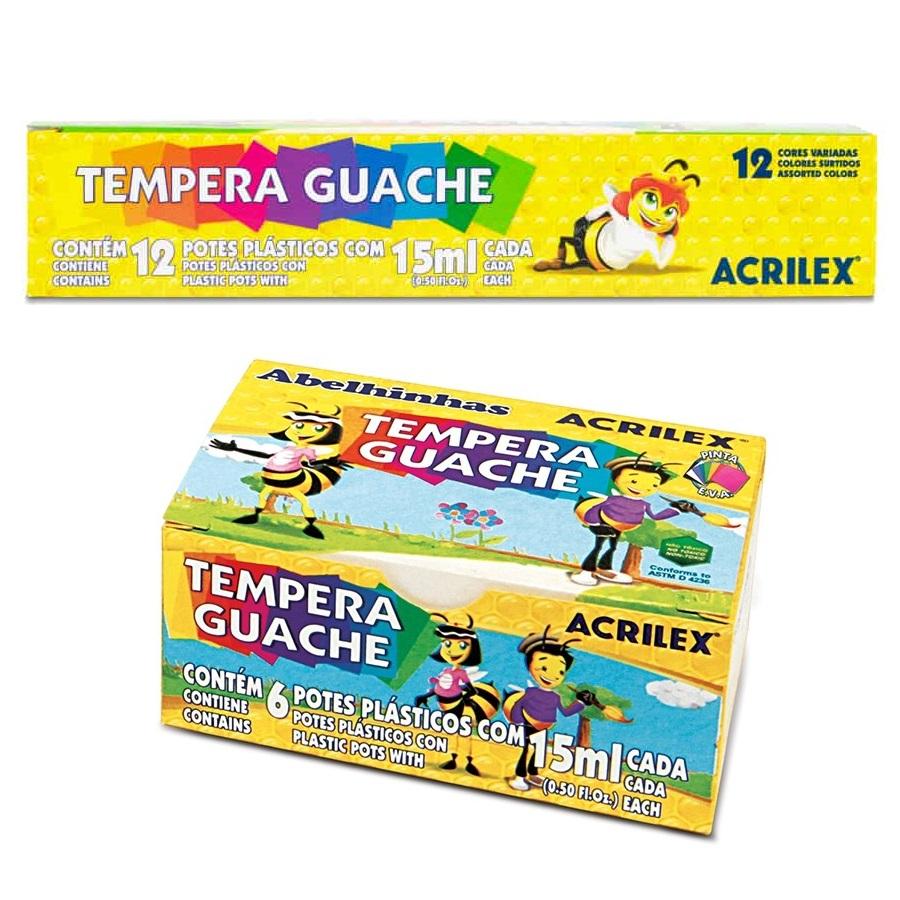 TINTA GUACHE ACRILEX