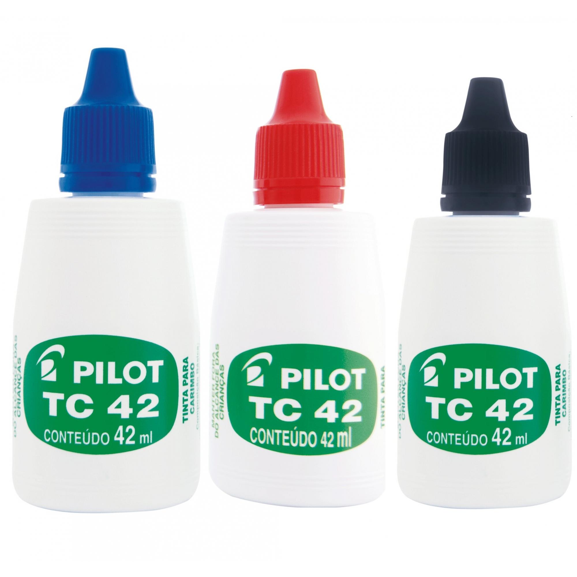 TINTA PARA CARIMBO PILOT 42ML
