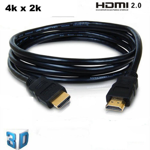 Cabo Hdmi 1080p Full Hd P/ Ps3 - Tv Led/lcd - Xbox 360