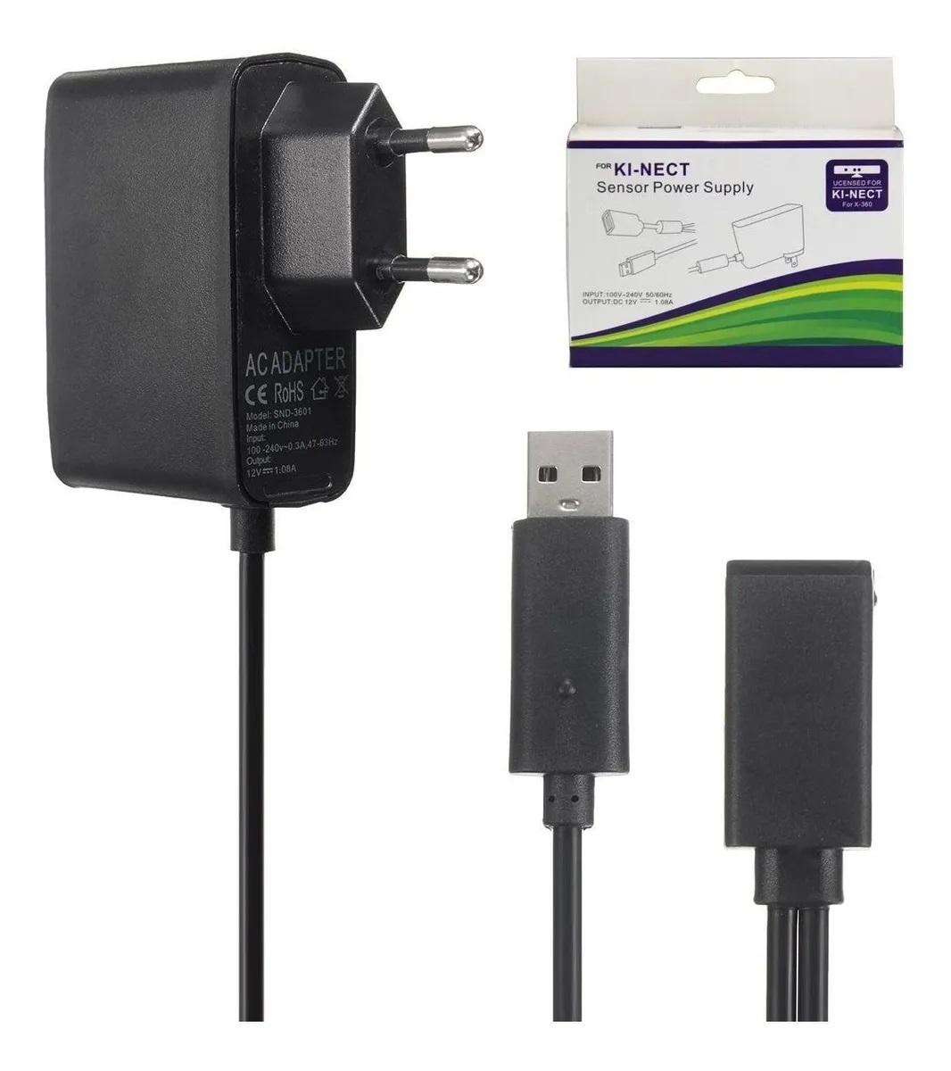 Fonte Bivolt 110-220v Compatível Com Sensor Kinect Xbox 360