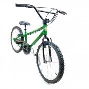 Bicicleta Nathor Aro 20 Aço Masculino Army Raiada Verde