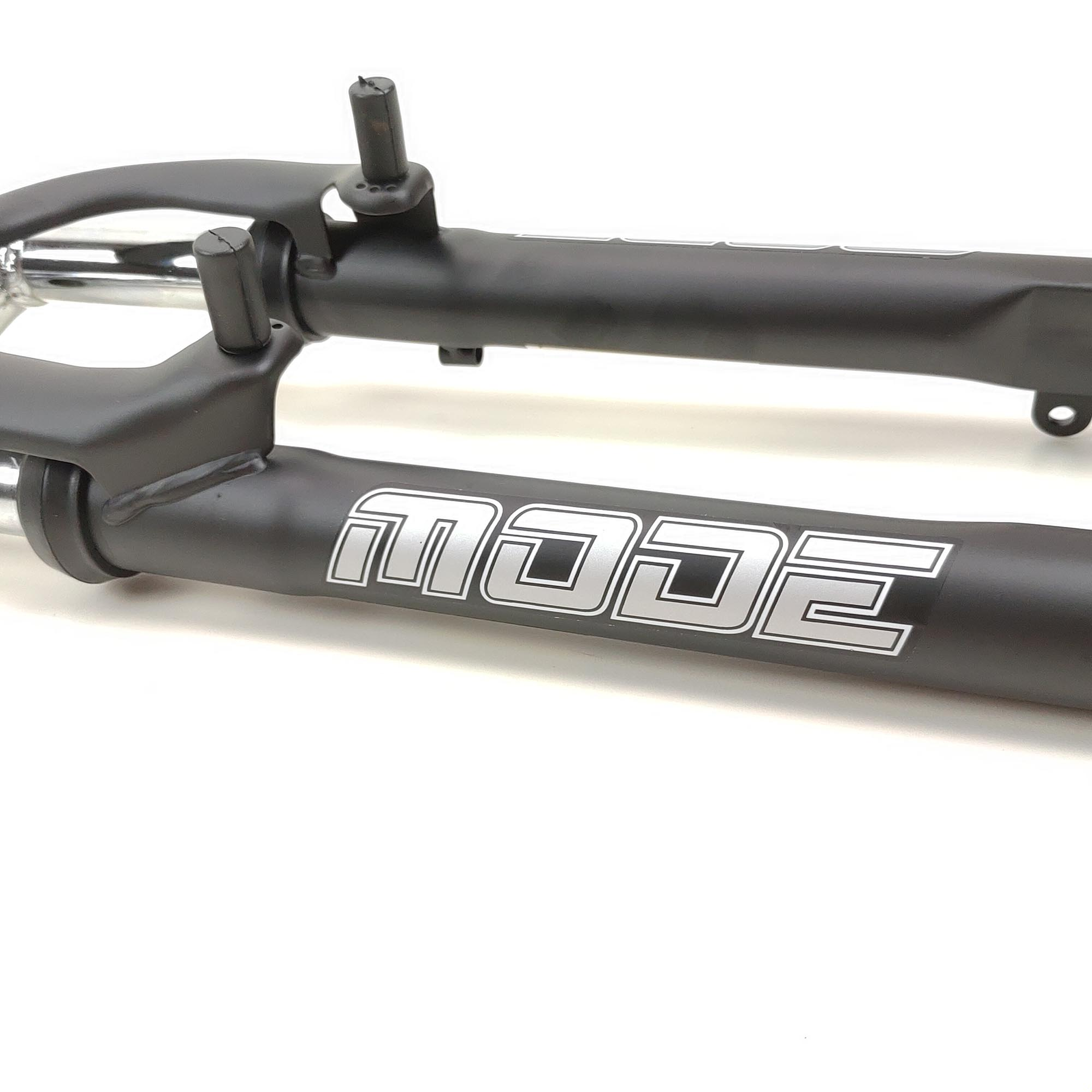 Amortecedor de Bike Suspensão Sem Trava Sem Regulagem Mode 26 Suspensao Aco A.Set V-brake Disc Pto