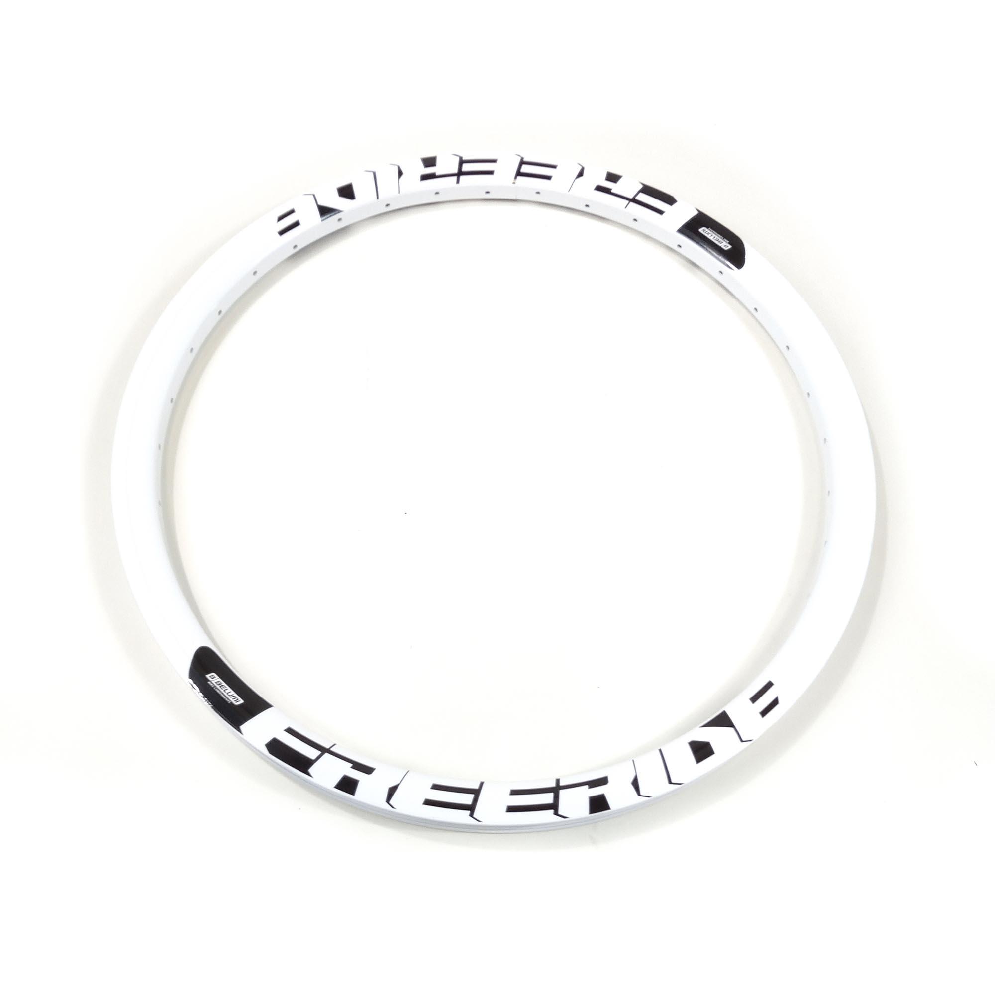 Aro de Bicicleta 26 Belumi Aluminio Freeride 36f Disco Branco
