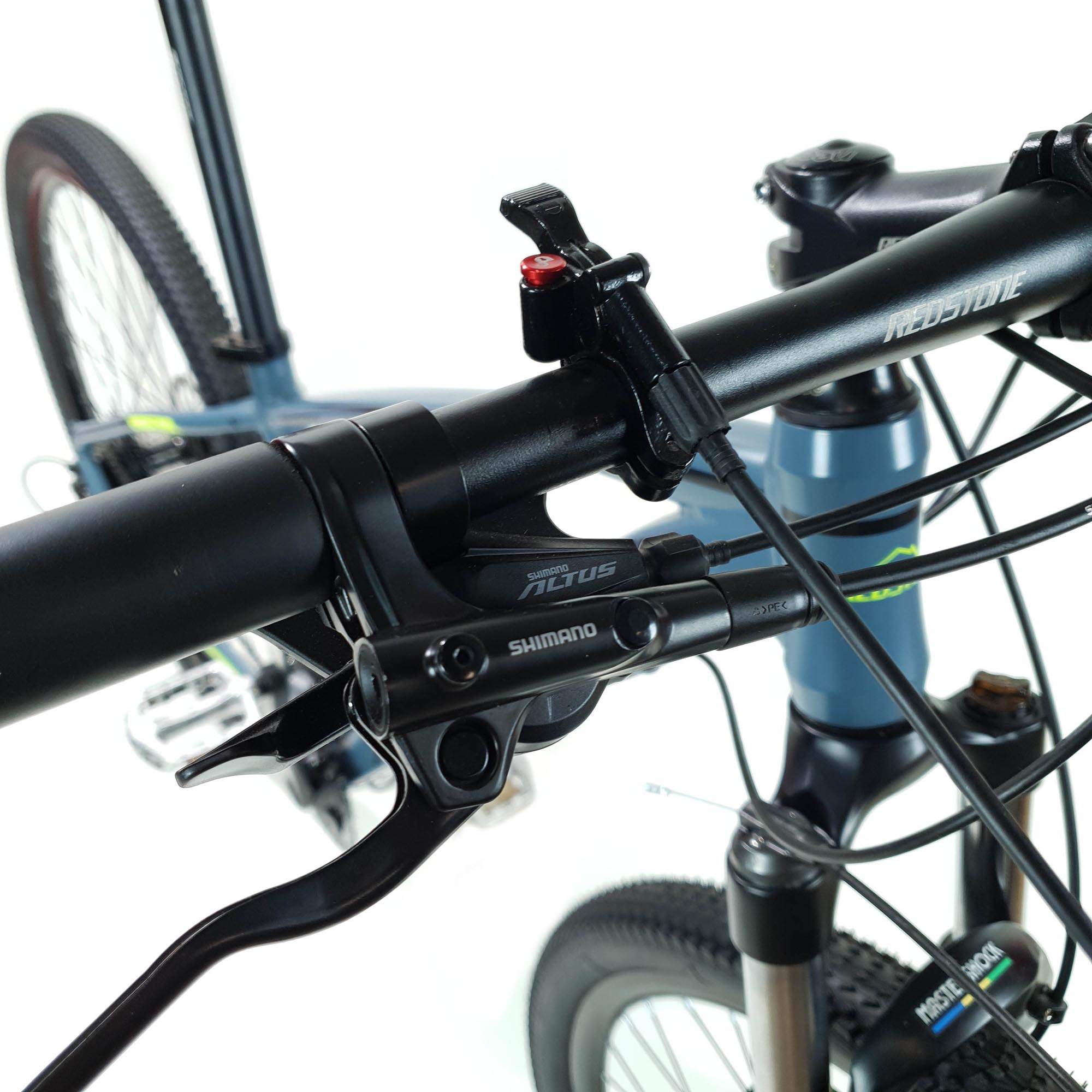 Bicicleta Aro 29 Redstone Aborygem , Suspensão Mastershock, Freio Shimano MT200