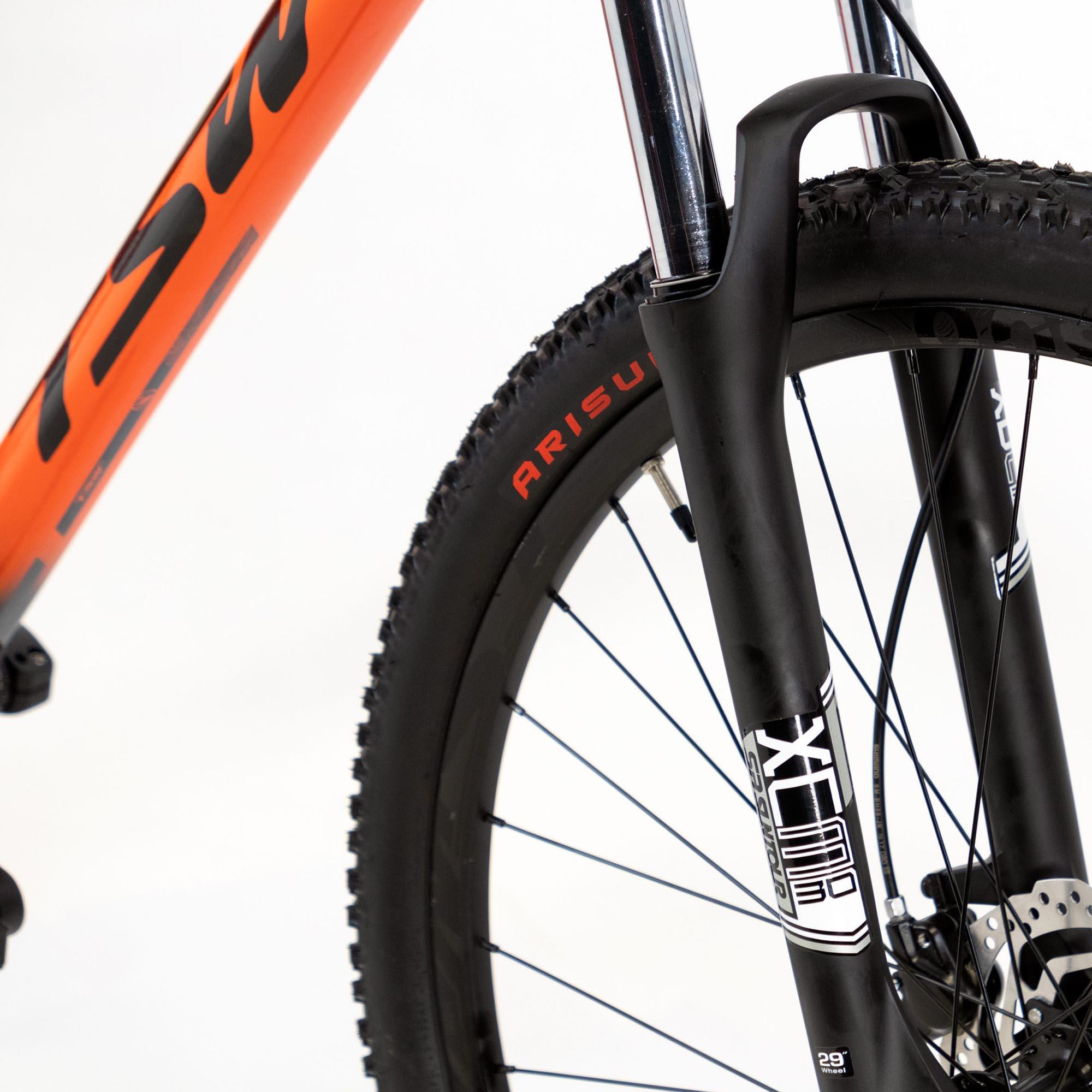 Bicicleta Aro 29 TSW Stamina Shimano Alivio, Suspensão Suntour XCM 30, Freio Shimano