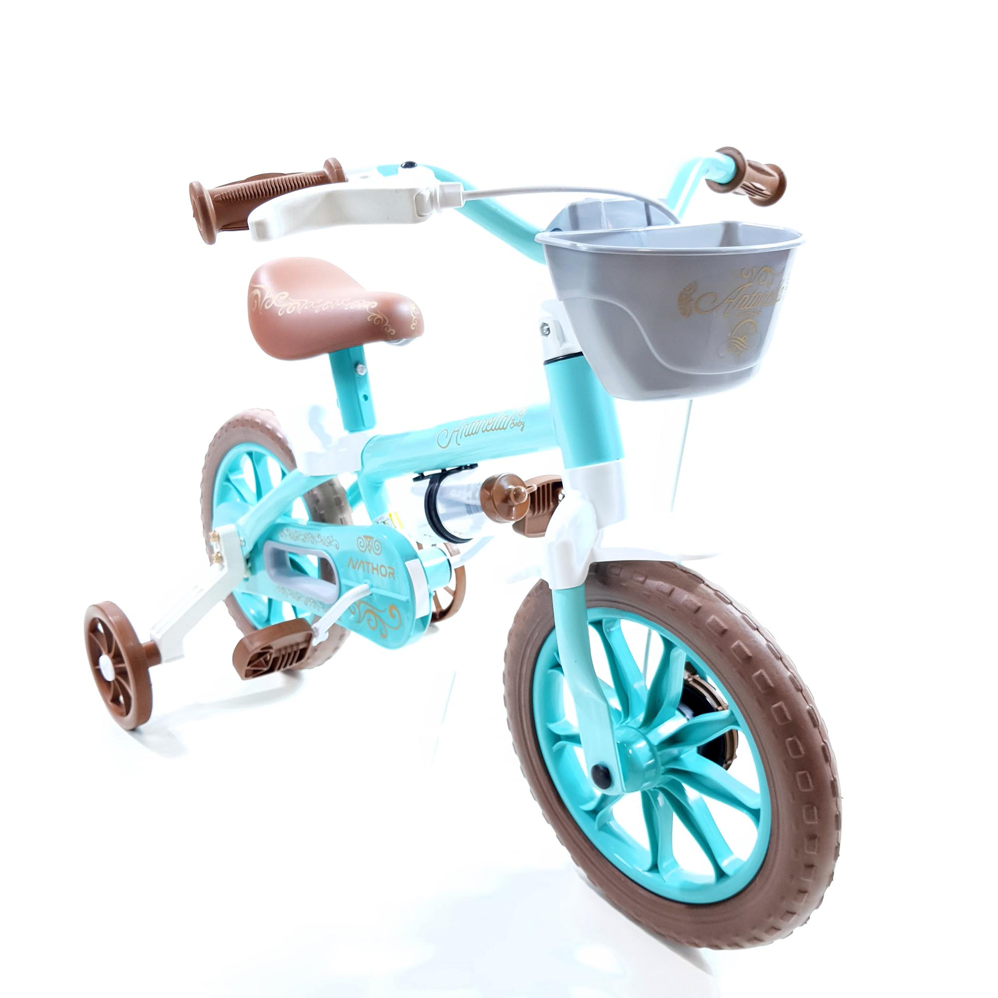 Bicicleta Nathor Infantil Aro 12 Feminina Antonella Baby