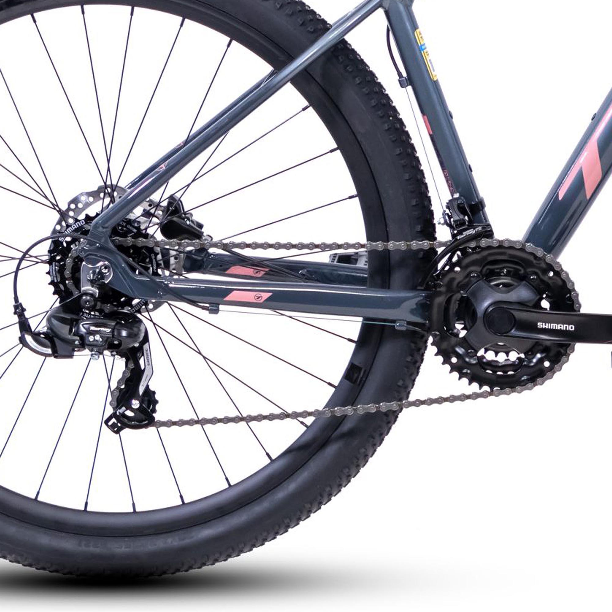 Bicicleta Aro 29 TSW Ride Plus Shimano Tourney, Suspensão TSW, Freio TSW