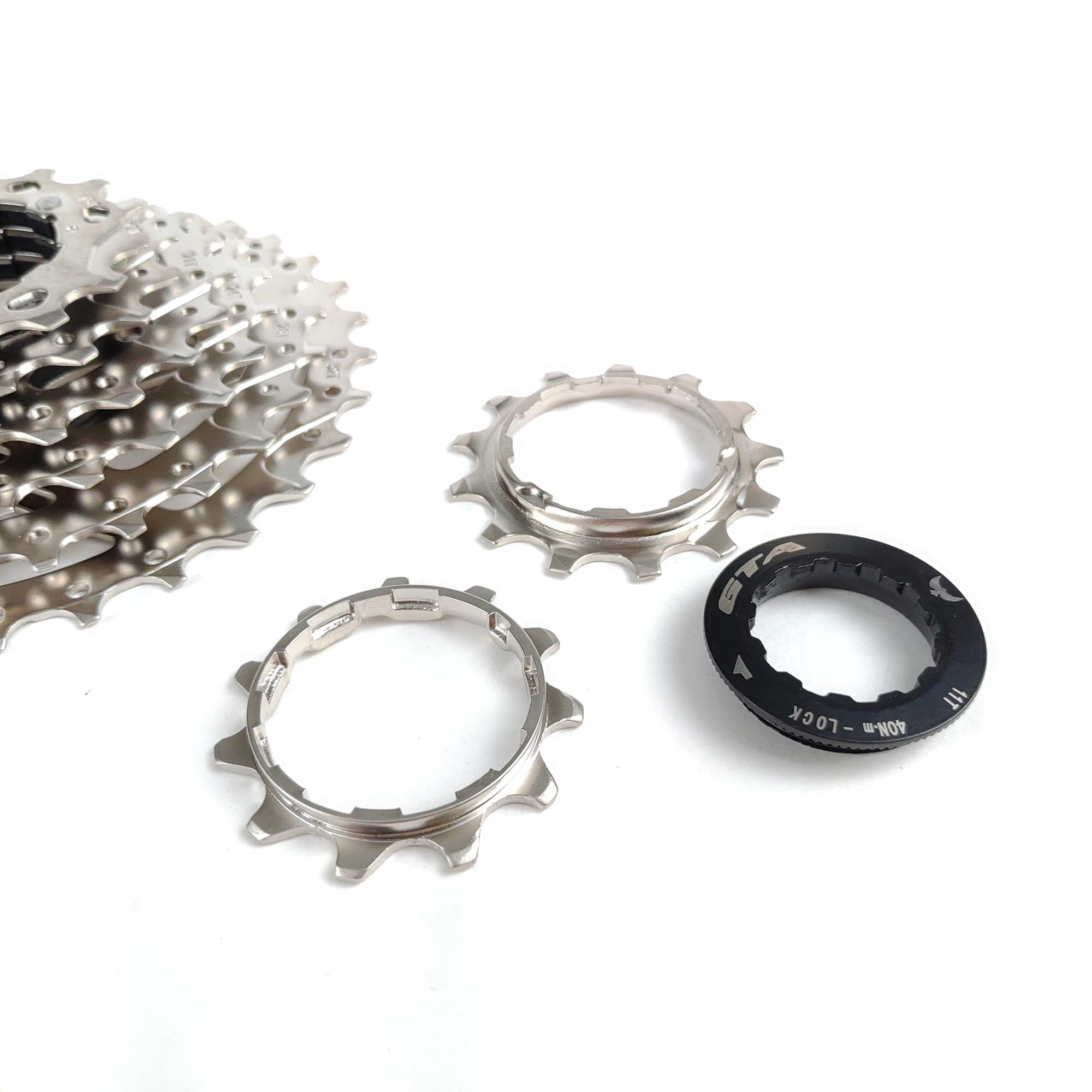 Cassete Bike de 8 velocidades Gta 11-32D Index Cromado