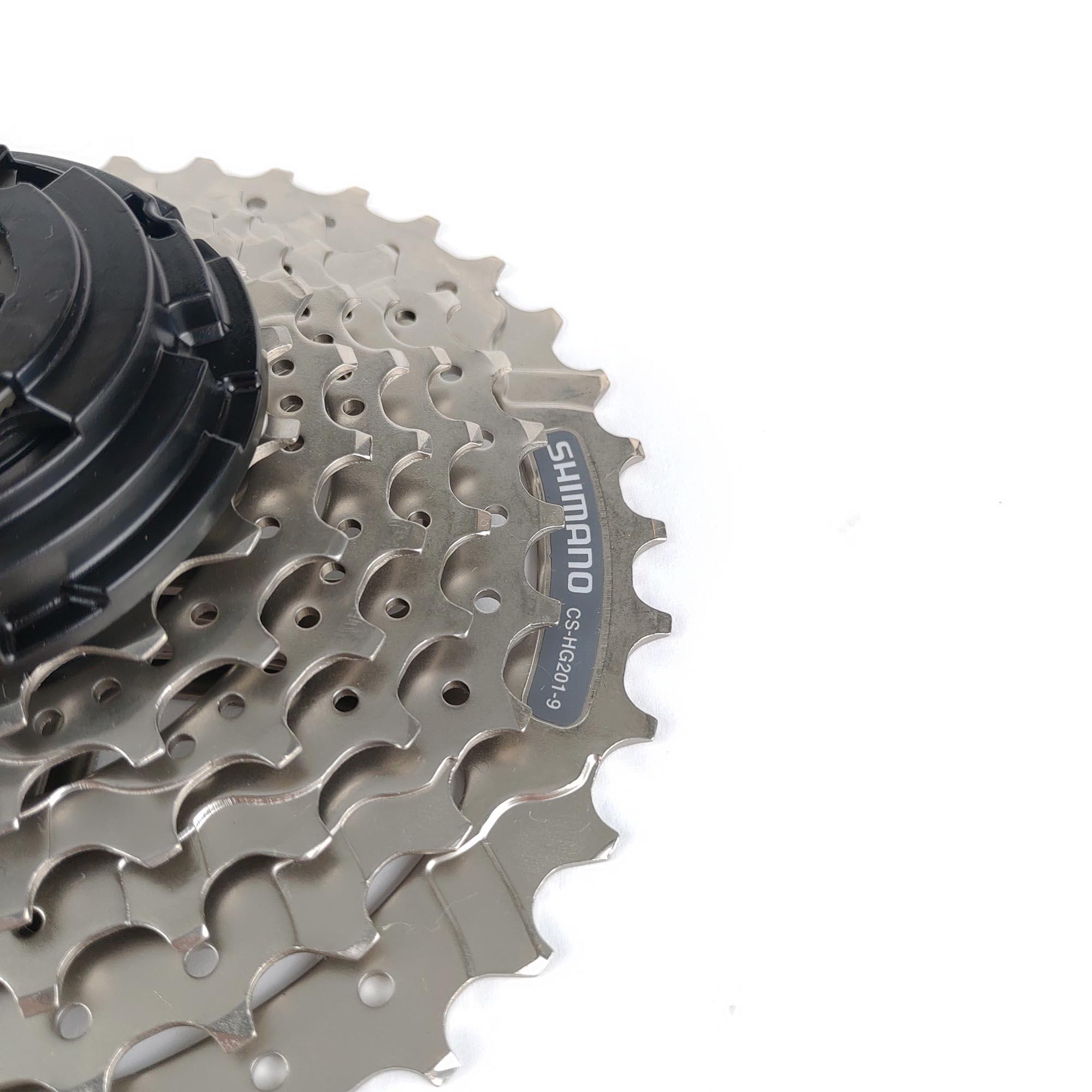 Cassete Bike de 9 velocidades Shimano Hg-201 11-36D