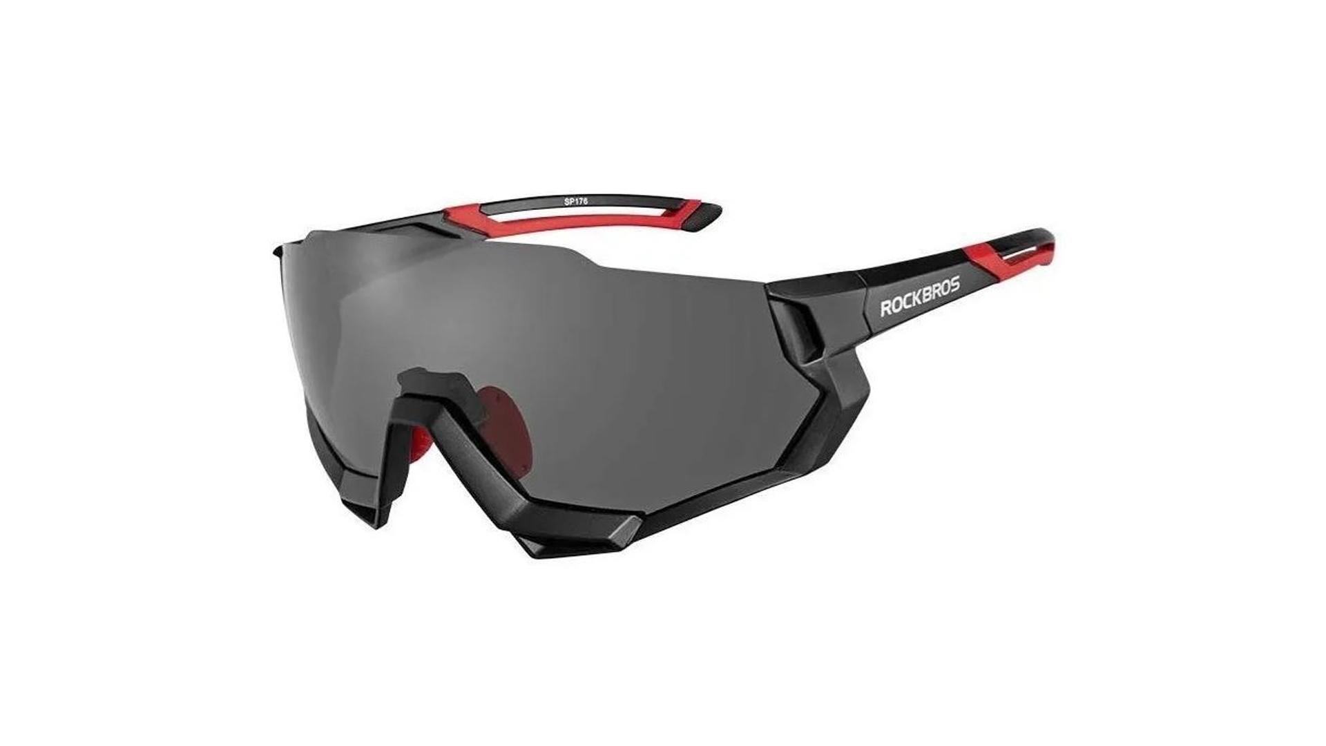 Óculos SP176 Preto C/5 Lentes UV - ROCKBROS