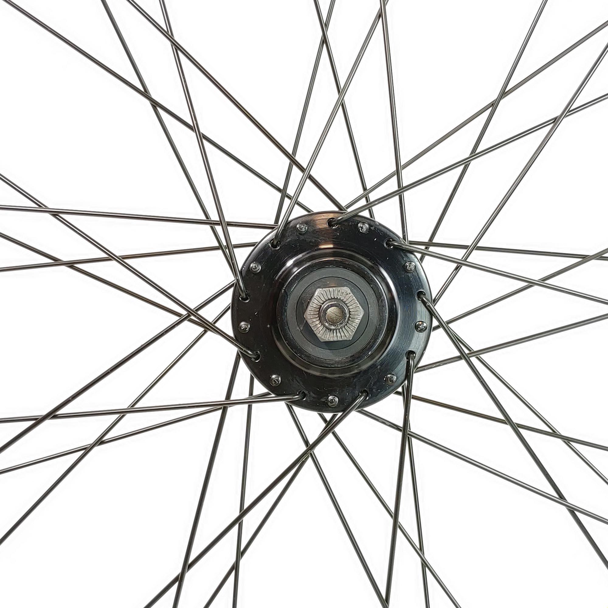 Roda de Bicicleta Aro 29 Snake Montada Cubo Disco K7 Raio Preto