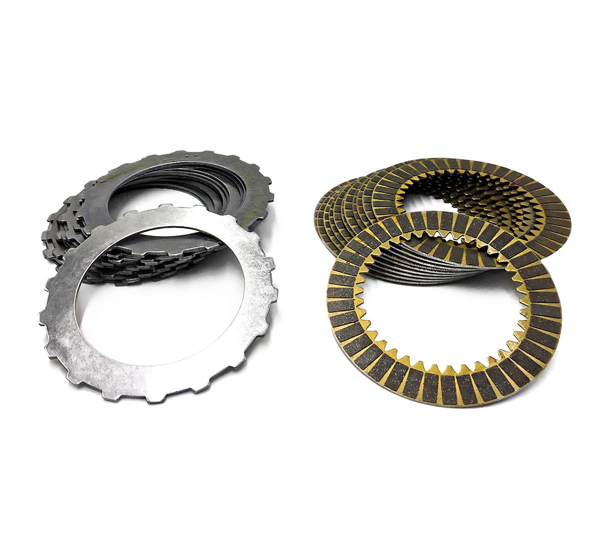 Jogo Discos de Aço e de Composite - Câmbio SLXA | BMXA - Honda