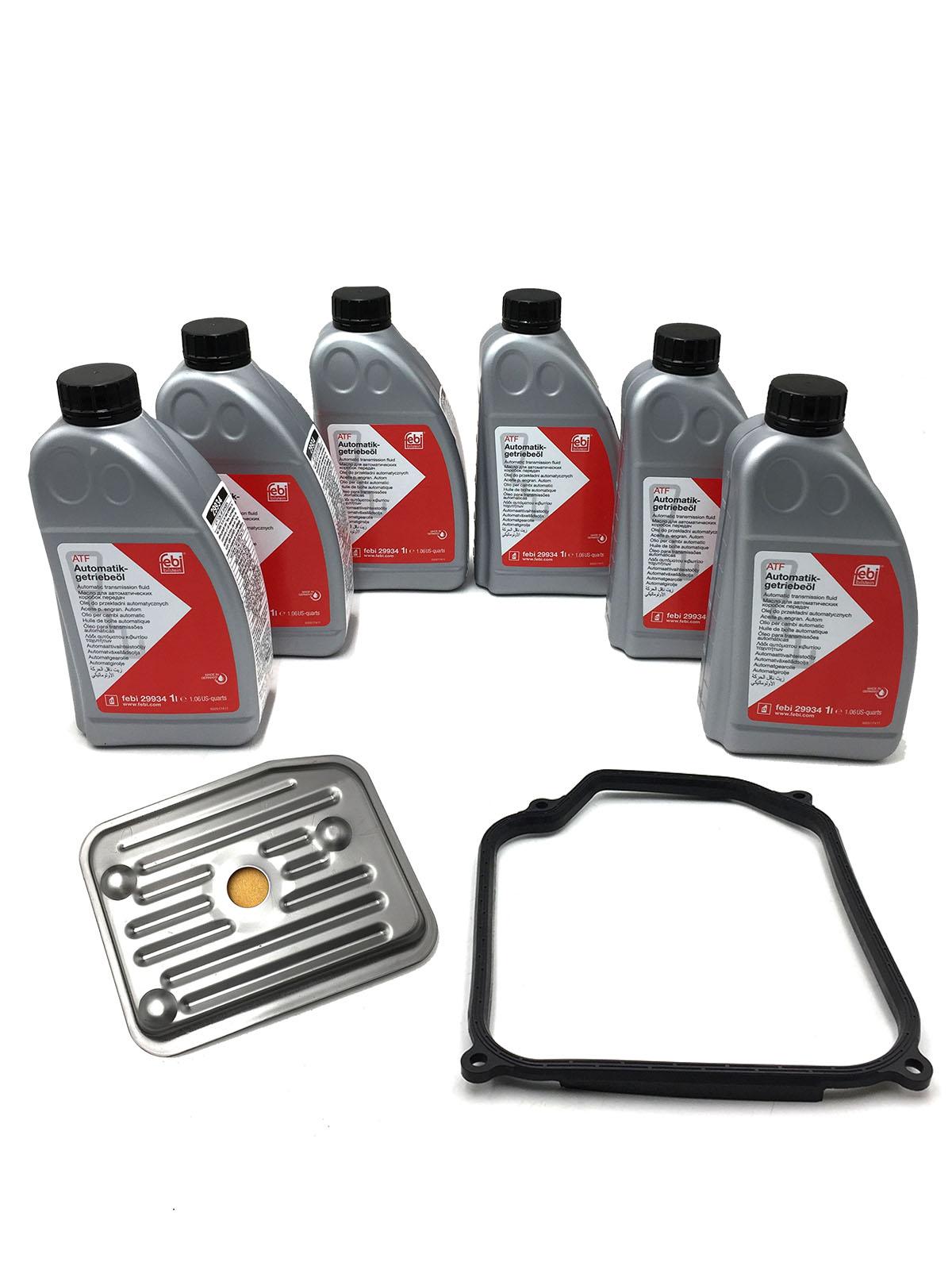 Kit Troca de Óleo Febi 29934 (6Lts) - Câmbio 01M - Audi, Seat e VW