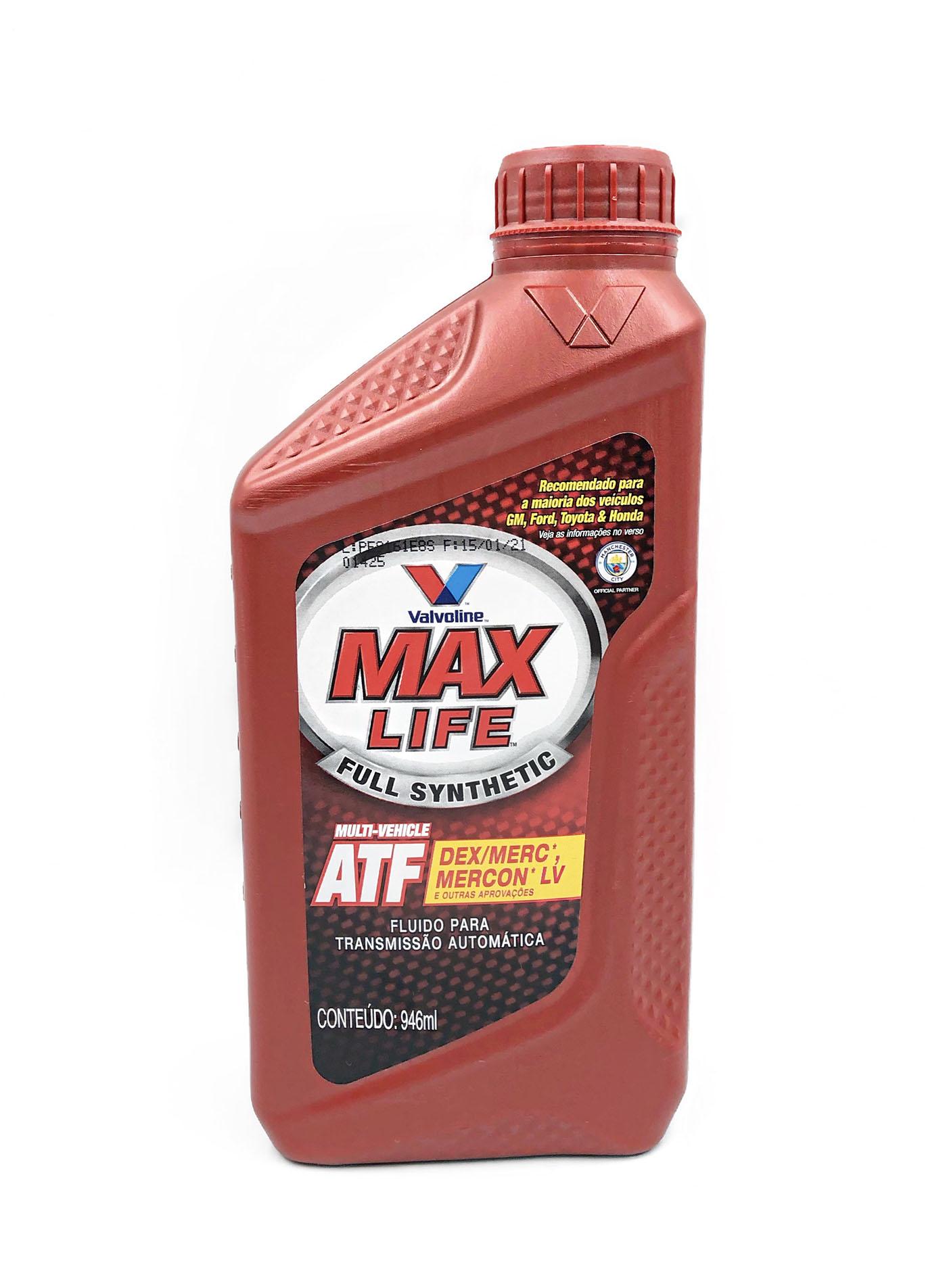 Óleo Valvoline Max Life ATF (Multi ATF) - 946ml.
