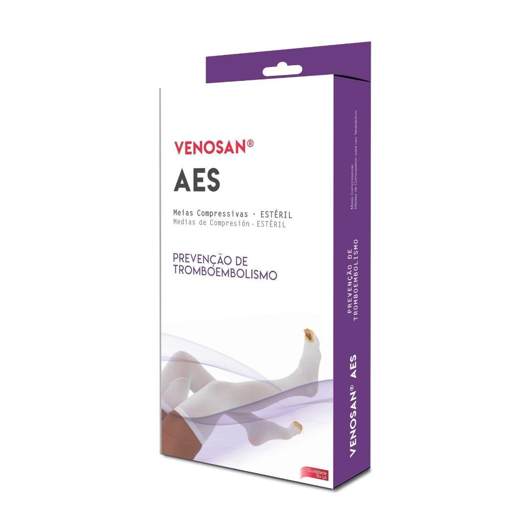 Meia Antitrombo - Antiembolismo - 18 mmHg - Estéril - Panturrilha - Venosan