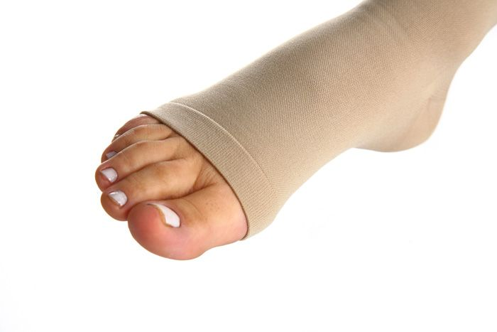 Meia de Compressão Essencial Conforto - Meia calça - 20-30 mmHg - Natural Escuro