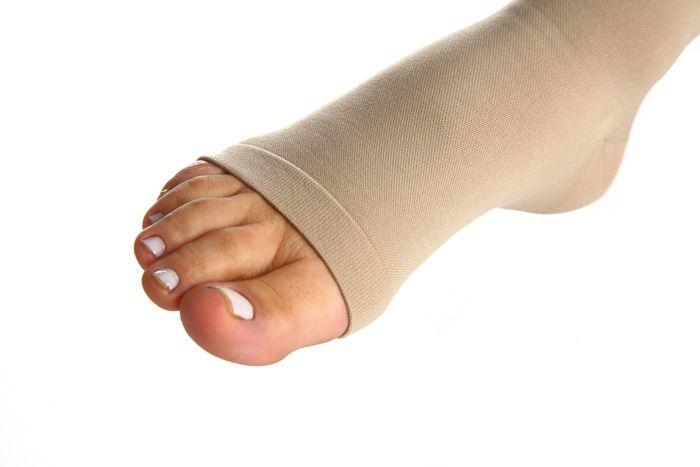 Meia de Compressão Essencial Conforto - Meia calça - 30-40 mmHg - Natural Escuro