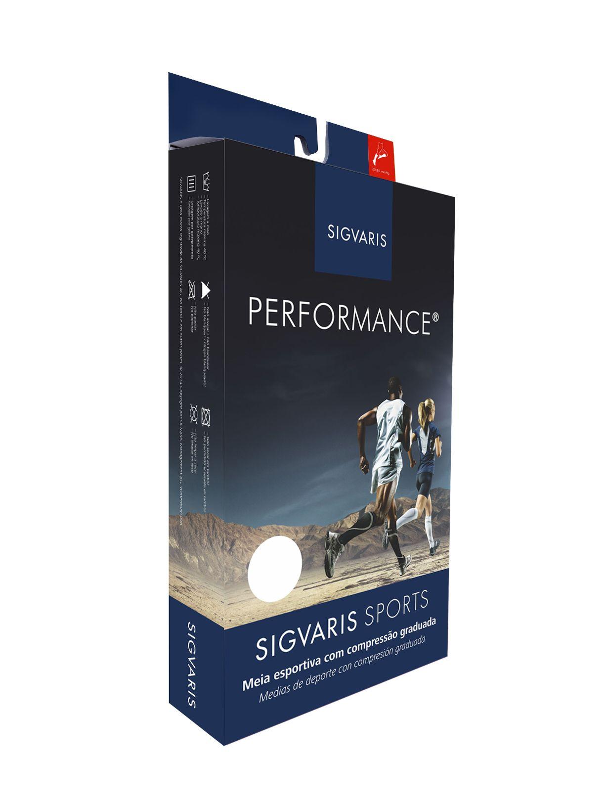 Meia Esportiva Performace - Sigvaris Sports - 20-30 mmHg