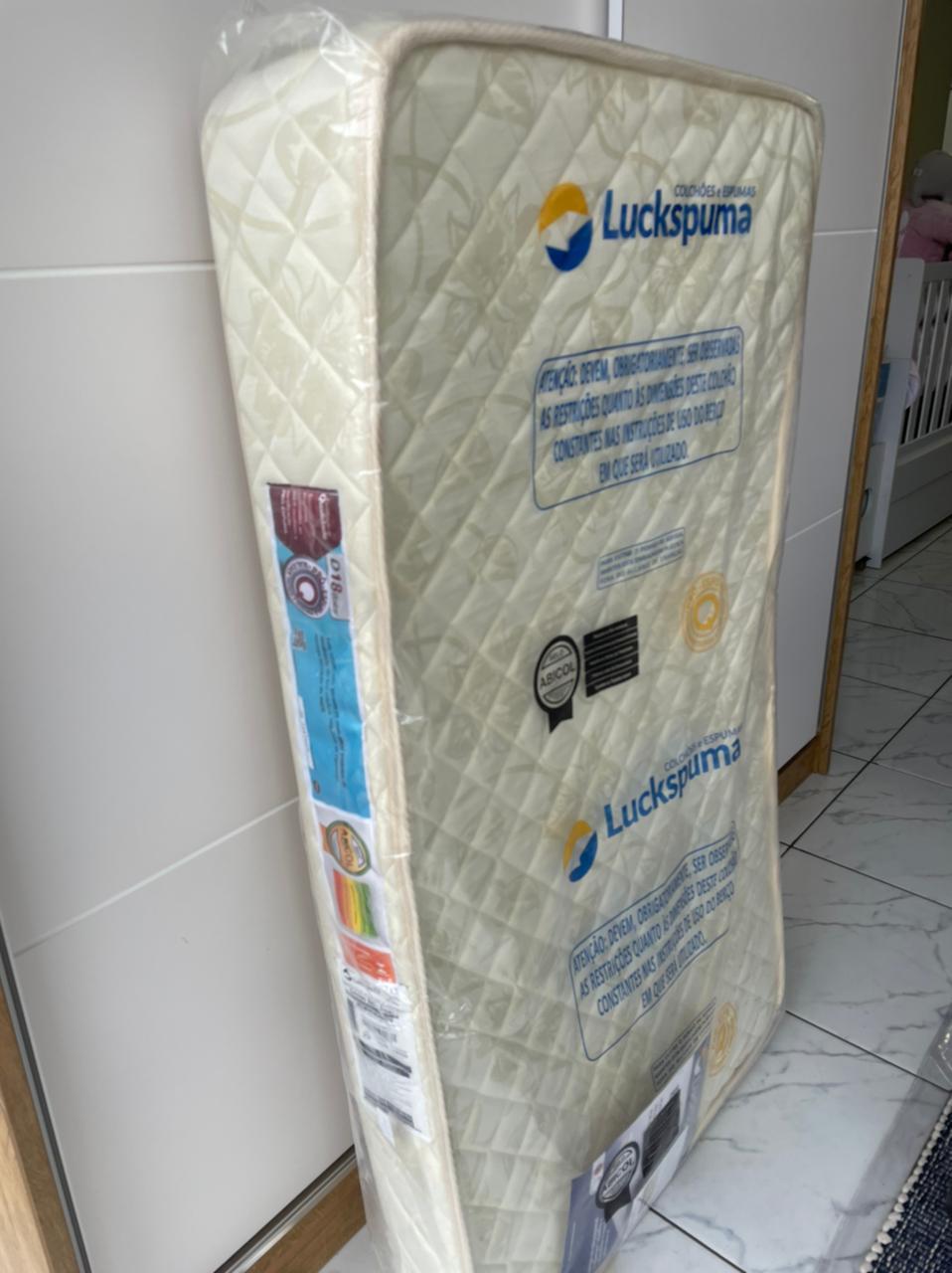 Colchão Baby Luckinho Antirefluxo