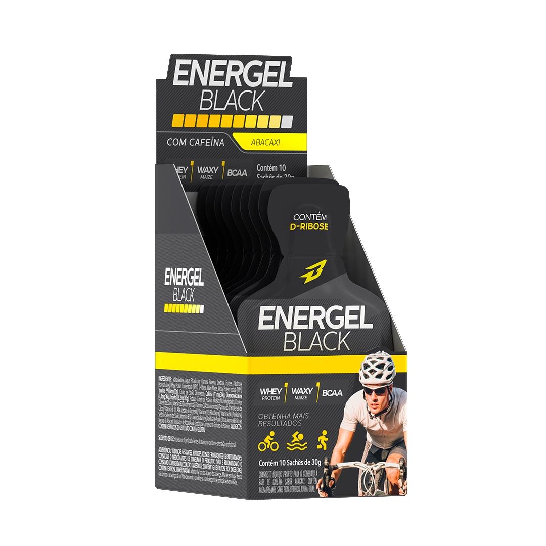 ENERGEL BLACK CX C/ 10 SACHES