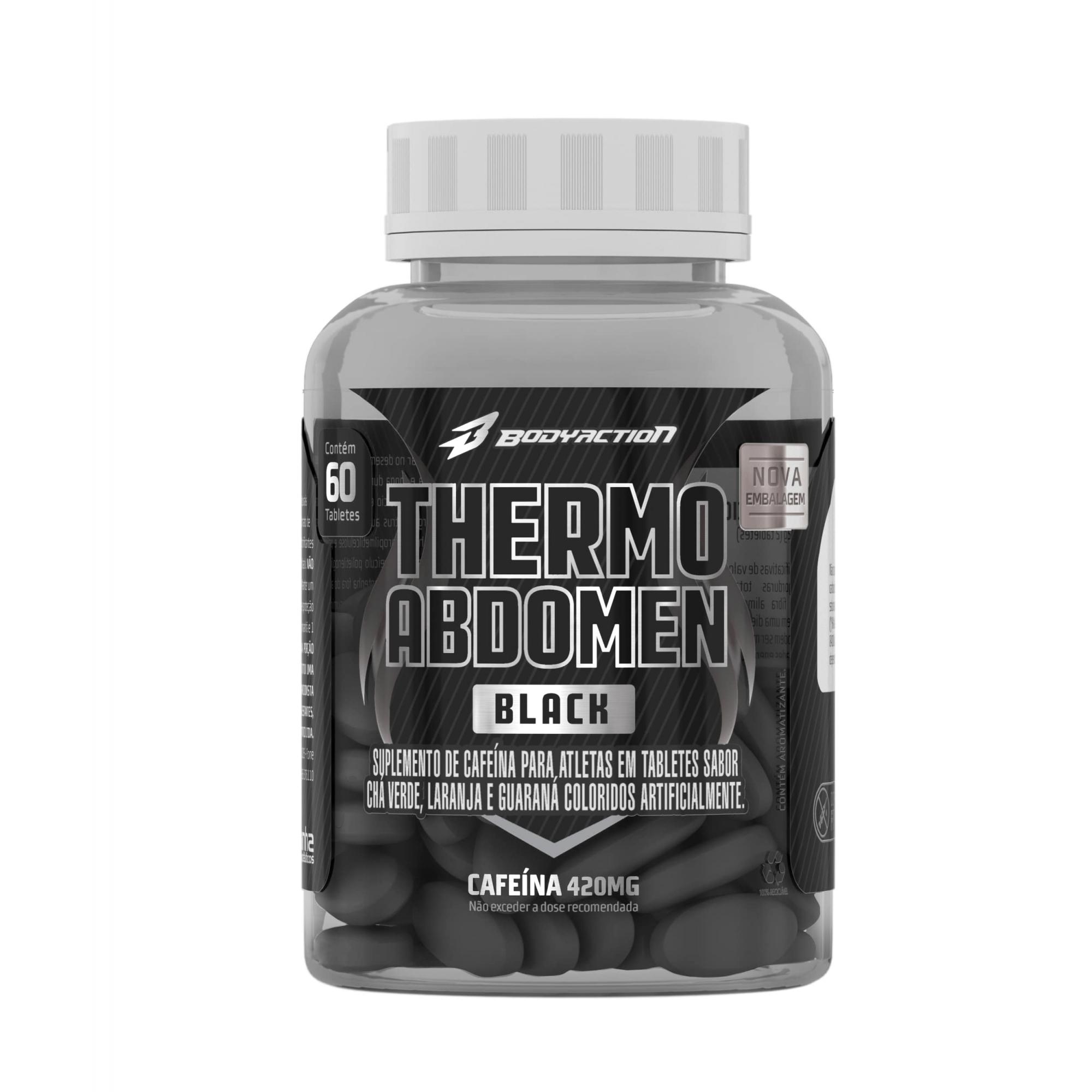 THERMO ABDOMEN BLACK 60 COMPRIMIDOS
