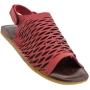 Sandália Flat Vermelha- Cod:Ba12