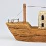 Barco Pesqueiro Rústico com LED YM-85