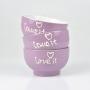 Bowl Love em Cerâmica YM-31