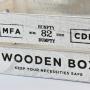 Caixa Wooden Box Pequena YH-32 C